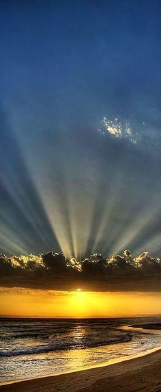 AMAZI)NG SUNSET - beach - sky #by gemini-1970.tumblr.com/ #https://www.pinterest.com/pin/471400285981436550/