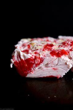 Strawberry Rhubarb Pie Ice Cream