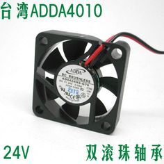 Free Shipping ADDA AD0424HS-G70 40mm 4CM 4010 24V 5700RPM ball bearing small axial DC brushless cooling  fan