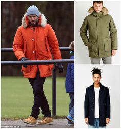 David Beckham Outerwear Look | Shop now and get the look from The Idle Man | #StyleMadeEasy