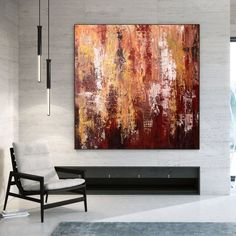 Textured Wall Art Acrylic Painting On Canvas Contemporary image 0 Large Abstract Wall Art, Large Canvas Art, Large Painting, Modern Wall Decor, Home Decor Wall Art, Modern Art, Art Decor, Oil Canvas, Acrylic Painting Canvas