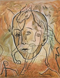 Francis Picabia (French, 1879–1953) |  Transparence | Tête et Cheval  Date:     (c. 1930)
