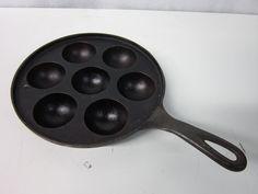 Munk Ebelskiver Cast Iron Pan No. 33 Swedish Dessert