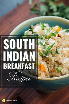 This post talks abou This post talks about the best south Indian breakfast recipes you can ever find! Go ahead and Delicious South Indian Breakfast Recipes You Must Try South Indian Breakfast Recipes, Indian Food Recipes, Vegetarian Recipes, Cooking Recipes, Healthy Recipes, Healthy Food, Cooking Videos, Healthy Meals, Snack Recipes