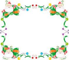 Free Christmas Clip Art Borders Frames Clipart Best Clipart Best