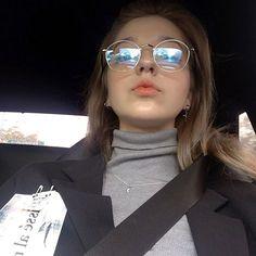 Angelina Danilova, Mirrored Sunglasses, Sunglasses Women, Cute Girls, My Girl, Mini Skirts, Beautiful Women, Photo And Video, Instagram Posts
