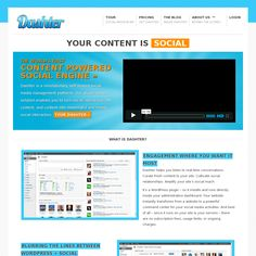 Dashter - A WordPress plugin that curates fresh content to your site.