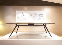 Iron Furniture, Unique Furniture, Table Furniture, Contemporary Furniture, Office Table Design, Office Furniture Design, Metal Table Legs, Home Desk, Industrial Table