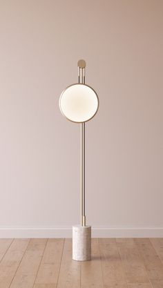 INDIRECT LIGHT METAL FLOOR LAMP SOLEDAD | ROCHE BOBOIS