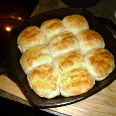 My Grandmother taught me how to make biscuits way before I was even a teenager.  This is the only recipe I have ever used and they are always a hit.