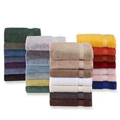 Wamsutta® Hygro® Duet Bath Towel Collection - www.BedBathandBeyond.com