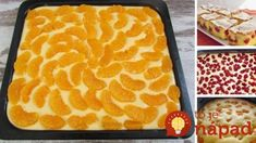 7 najlepších receptov na domácu bublaninu! No Bake Cake, Tiramisu, Ham, Cake Recipes, Food And Drink, Easy Meals, Cooking Recipes, Sweets, Baking