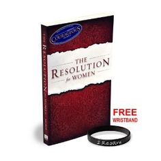 The Resolution for Women™ The Resolution for Women challenges women to embrace and thrive in God's beautiful and eternal call on their lives. Inspired by COURAGEOUS, popular speaker and author Priscilla Shirer calls women to Christ-centered living. Resolve to live with grace and create a Godly legacy with your life