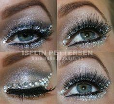 Glitter and rhinestones.