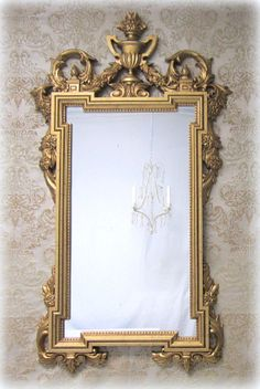 Decorative ornate antique vintage mirrors for sale on for Big mirrors for sale