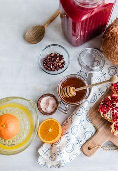 Hibiscus Tea Electrolyte Drink