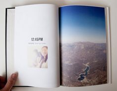 Photobook ideas: anatomy of a weekend