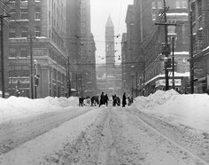 The season is also a great time to get outdoors, partake in some cold weather activities and take in the beauty of freshly fallen snow. Toronto Snow, Toronto Ontario Canada, Downtown Toronto, Toronto City, Toronto Skyline, Get Outdoors, Vintage Photographs, Vintage Photos, Best Cities