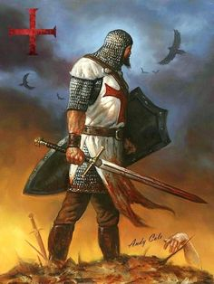 Fantasy Warrior, Fantasy Art, Anglo Saxon History, Wolf Warriors, Silver Knight, Knight Tattoo, Crusader Knight, Christian Warrior, Medieval Knight