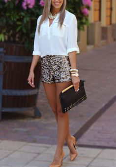 Party Nigth Outfit Chic Sparkle New Ideas