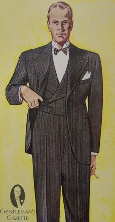 Proper 3 piece Suit with Double Breasted waistcoat