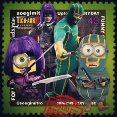 Minions Kick-Ass 2.