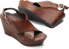 Born Womens Emmy in Brown  Love these but they're not what I need.