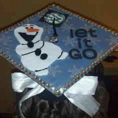 My graduation cap! #nw14 #frozen #letitgo