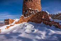 Snowdrifts and Shadows-South Rim by Pat Kofahl on 500px