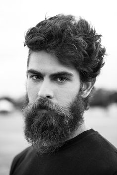 great texture in this beard...would love to see it in color!