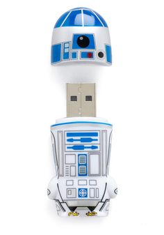 Store Trooper USB Flash Drive in R2-D2    Take your files far, far away with this collector's USB key - a miniature 'clone' from the Star Wars cast! The perfect gift for genuine fans of the trilogy, this flash drive was created in the likeness of R2-D2.