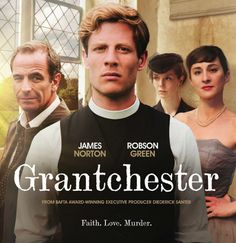 'Grantchester', 2014 - James Norton & Robson Green - Brilliant TV.