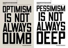 I'll always be an incurable optimist