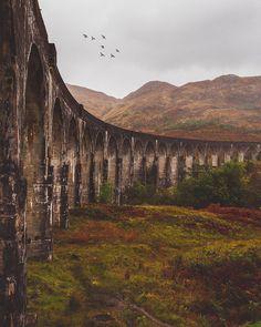 Glenfinnan Viaduct, Scotland | Photography by James Lloyd Cole