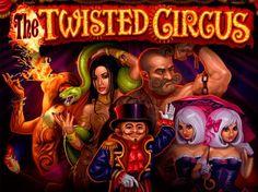 Игровой автомат Twisted Circus на деньги.  Яркий игровой автомат Twisted Circus с запоминающимся сюжетом и реальными выводами денег порадует слегка жутковатыми персонажами цирка и мрачным музыкальным сопровождением. Однако это не влияет на популярность слота, он всегда во�