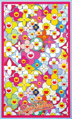 View LV COSMIC BLOSSOM: WISDOM By Takashi Murakami; acrylic and platinum leaf on canvas;, 68 by 41 in; Access more artwork lots and estimated & realized auction prices on MutualArt. Cute Patterns Wallpaper, Aesthetic Pastel Wallpaper, Trippy Wallpaper, Cartoon Wallpaper, Takashi Murakami Art, Murakami Flower, Hypebeast Wallpaper, Photo Wall Collage, Funny Wallpapers