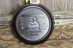 Lodge No. 5 St. Augustine Lighthouse Florida Advertising Skillet $31.00