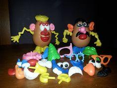 Vintage Hasbro Mr Potato Head Lot of 44 Items #Hasbro