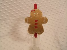 Gingerbread Girl Headband Slider by DieCutHeaven on Etsy