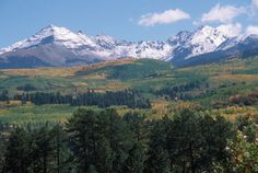 San Juan Mountains - Durango, Colorado (Photo: Cosmix Sound) Going to live here someday.