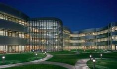 Glass Curtain Wall, The University Center of Lake County by Legat Architects, Inc.