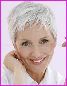 Pixie Haircuts for Fine Hair Over To look much younger than your age, you need to coordinate the choice of a new cut with your face shape. Check the images about Pixie Haircuts for Fi. Haircuts For Over 60, Short Hairstyles Over 50, Haircuts For Fine Hair, Haircut For Thick Hair, Short Pixie Haircuts, Pixie Hairstyles, Thin Hair, Layered Hairstyles, Hair Styles For Women Over 50