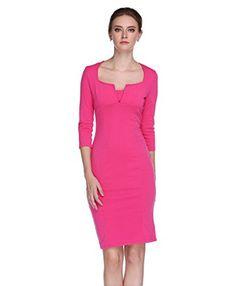 L'ALYSSE Women Casual Clubwear Evening Party Bodycon Pencil Dress(Rose Red,S) L'alysse http://www.amazon.com/dp/B015PZRK98/ref=cm_sw_r_pi_dp_HIGIwb03BCGEW