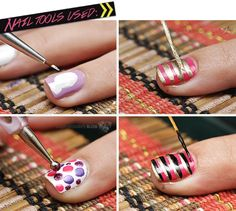 NOTD with 15 Piece Nail Brushes