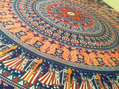 Hippie Wall Hanging Indian Mandala Elephant Tapestries Throw Table bed cover #Unbranded #ArtDecoStyle
