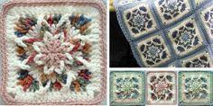 Crochet Star Square