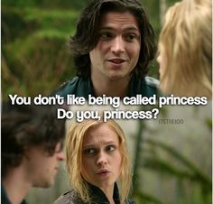 Is it just me that thinks finn and Clarke are better than Bellamy and Clarke #the100 << yes. Yes it is