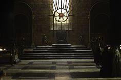 The Iron Throne Room. #gameofthrones