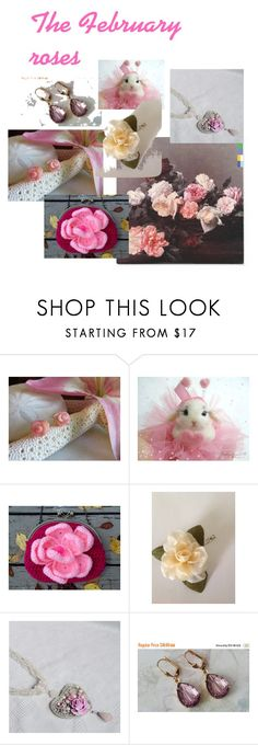 """""""The February roses"""" by varivodamar ❤ liked on Polyvore"""