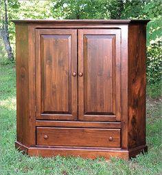 Two Door Corner TV Cabinet